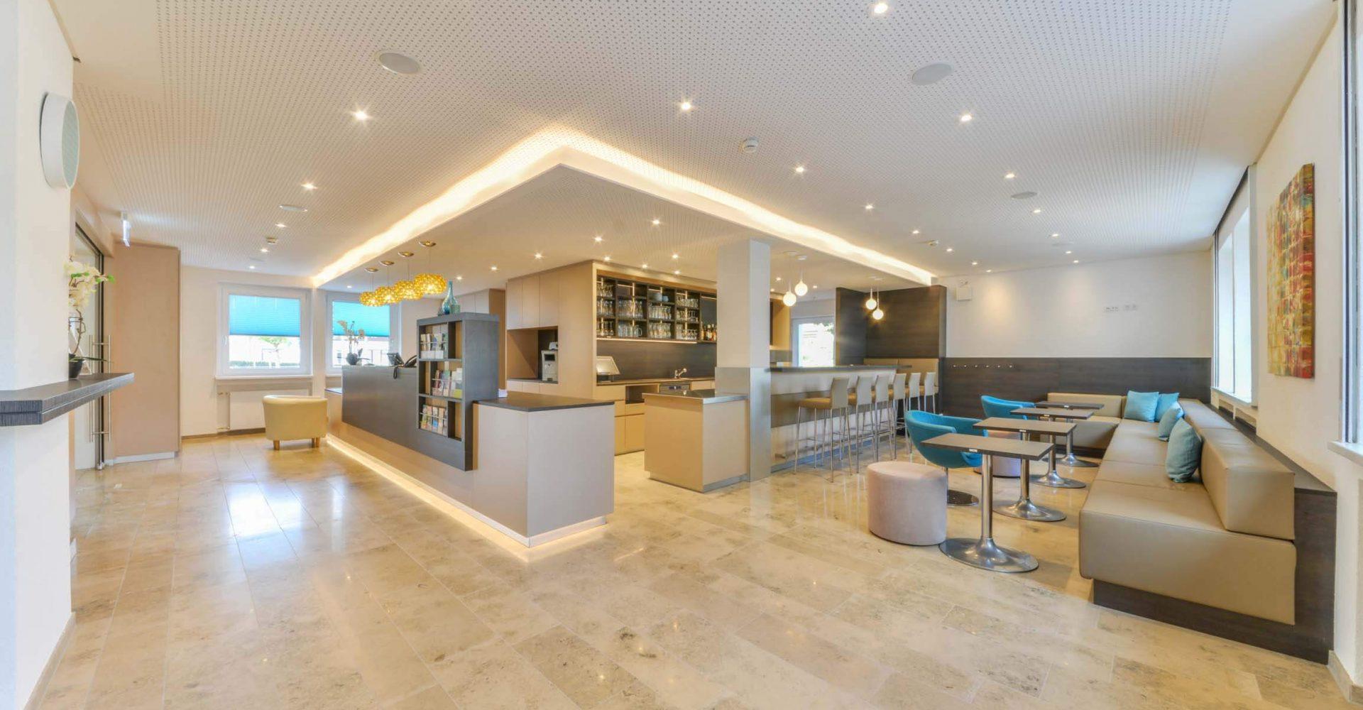 Hotel Ateck Empfangsbereich