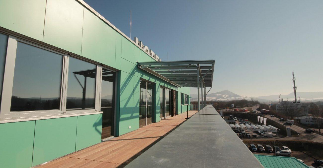Hotel Ateck Tagungsraum Teckblick mit Terrasse