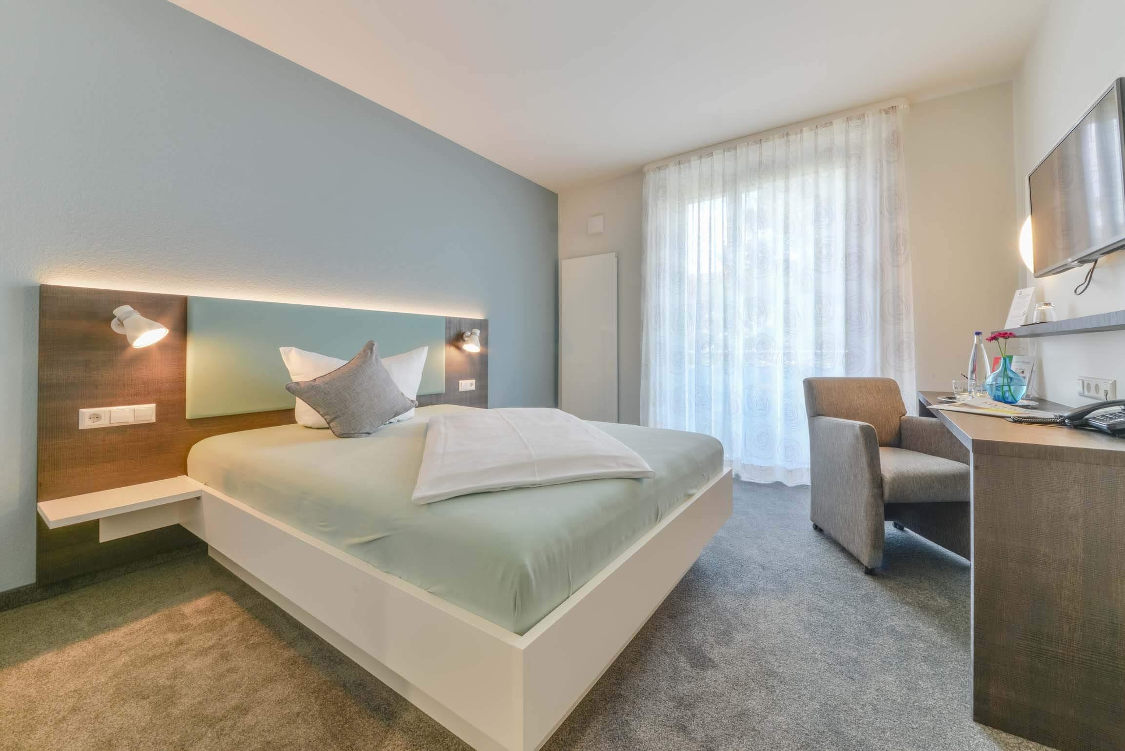 Hotel Ateck Einzelzimmer Queensize